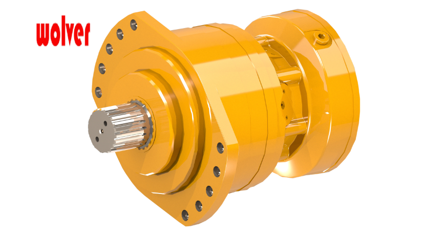BMS/BMSE 05 Low speed high torque hydraulic motor